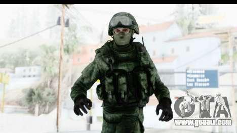Global Warfare Russia for GTA San Andreas