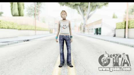 Silent Hill 3 - Heather Sporty White Delicious for GTA San Andreas second screenshot