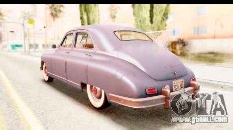 Packard Standart Eight 1948 Touring Sedan for GTA San Andreas back left view