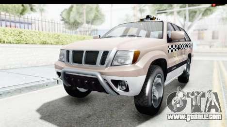 GTA 5 Canis Seminole Taxi Saints Row 4 for GTA San Andreas