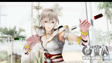 Dynasty Warriors 8 Xtreme Legends Lu Lingqi 2 for GTA San Andreas