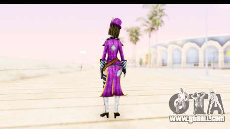 Borderland - Moxi Purple for GTA San Andreas third screenshot