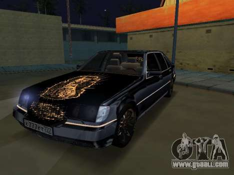 Mersedes-Benz W140 600SEL for GTA San Andreas
