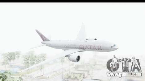 Boeing 777-200LR Qatar Airways for GTA San Andreas