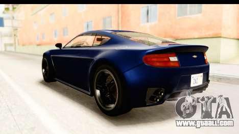 GTA 5 Dewbauchee Rapid GT for GTA San Andreas left view