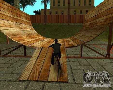 New HD Glen Park for GTA San Andreas ninth screenshot