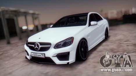 Mercedes-Benz E63 GSC for GTA San Andreas