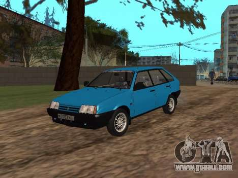 VAZ 2109 with alloy wheels for GTA San Andreas
