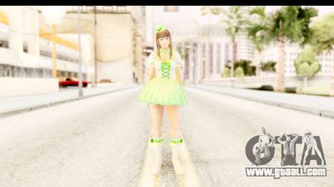 Dead Or Alive 5 - Hitomi Pop Idol for GTA San Andreas second screenshot