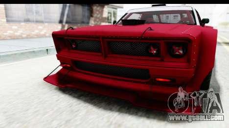 GTA 5 Declasse Drift Tampa IVF for GTA San Andreas interior