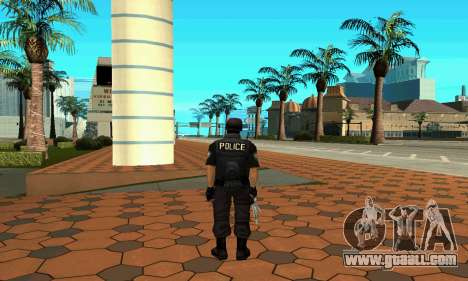 NextGen changed the original skin SWAT for GTA San Andreas third screenshot