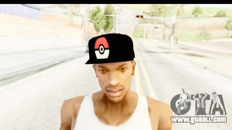 Cap Pokemon Pokeball for GTA San Andreas third screenshot