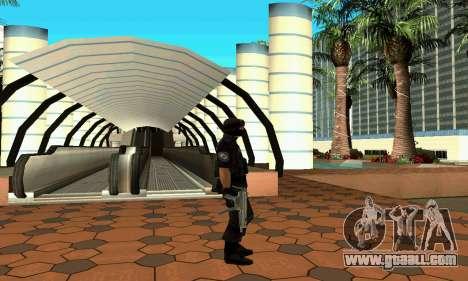 NextGen changed the original skin SWAT for GTA San Andreas forth screenshot