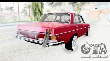 Mercedes-Benz 300SEL for GTA San Andreas right view