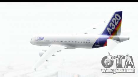 Airbus A320-200 Industrie MSN 1 1987 First Fligh for GTA San Andreas left view