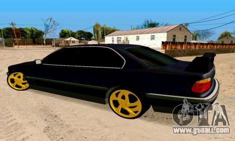 BMW 730 for GTA San Andreas left view