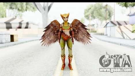 Injustice God Among Us - Hawk Girl for GTA San Andreas second screenshot