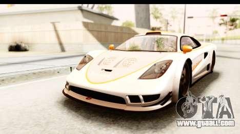 GTA 5 Progen Tyrus SA Style for GTA San Andreas bottom view