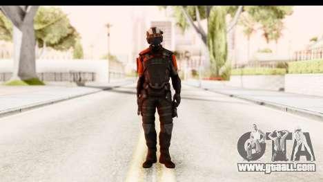 Homefront The Revolution - KPA v3 Black for GTA San Andreas second screenshot