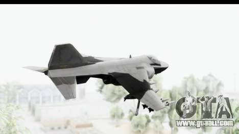 MGSV Phantom Pain Hydra v2 for GTA San Andreas right view