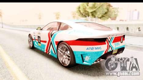 GTA 5 Ocelot Lynx IVF for GTA San Andreas side view