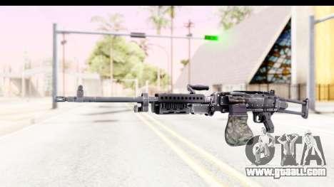 M240 FSK No Attachments for GTA San Andreas