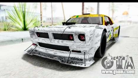 GTA 5 Declasse Drift Tampa for GTA San Andreas inner view