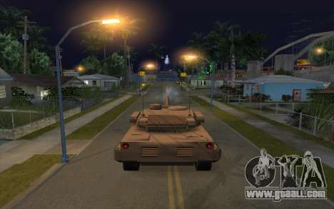 The effect of firing tank for GTA San Andreas