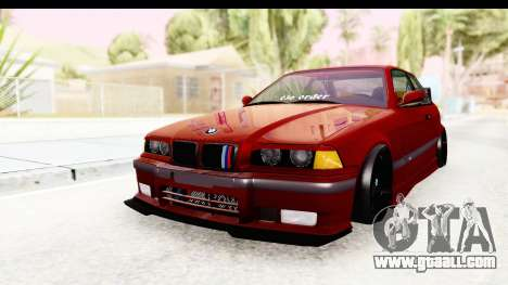 BMW M3 E36 Spermatozoid Edition for GTA San Andreas