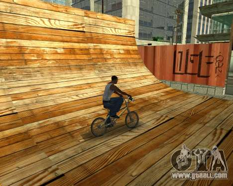 New HD Glen Park for GTA San Andreas