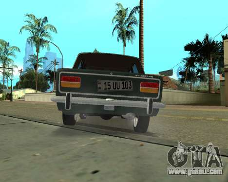 VAZ 2103 Armenian for GTA San Andreas back view
