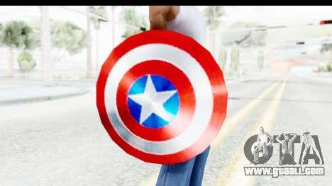 Capitan America Shield Classic for GTA San Andreas third screenshot