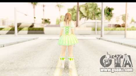 Dead Or Alive 5 - Hitomi Pop Idol for GTA San Andreas third screenshot