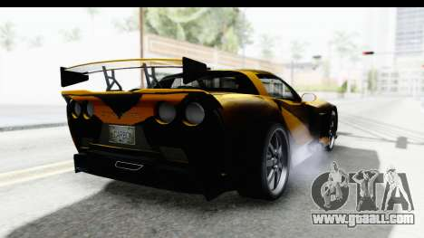 NFS Carbon Chevrolet Corvette for GTA San Andreas right view