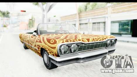 Savanna New PJ for GTA San Andreas back view