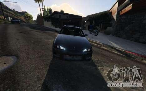 GTA 5 Nissan SIlvia S15 v0.9 steering wheel