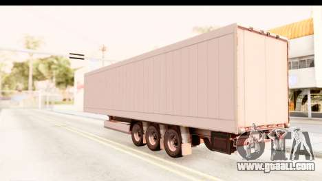 Trailer ETS2 v2 Nr. 2 for GTA San Andreas left view