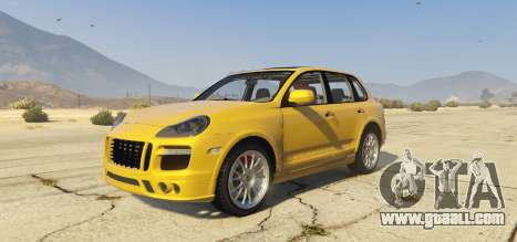 Porsche Cayenne Turbo 2010 for GTA 5