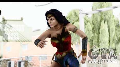 Injustice God Among Us - Wonder Woman BVS for GTA San Andreas