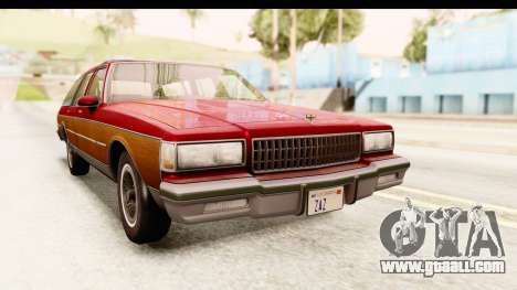 Chevrolet Caprice 1989 Station Wagon IVF for GTA San Andreas right view