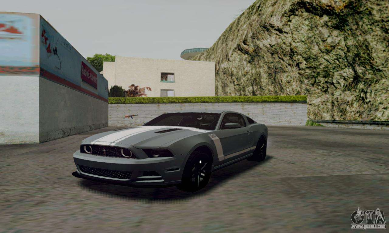 ford mustang for gta san andreas. Black Bedroom Furniture Sets. Home Design Ideas