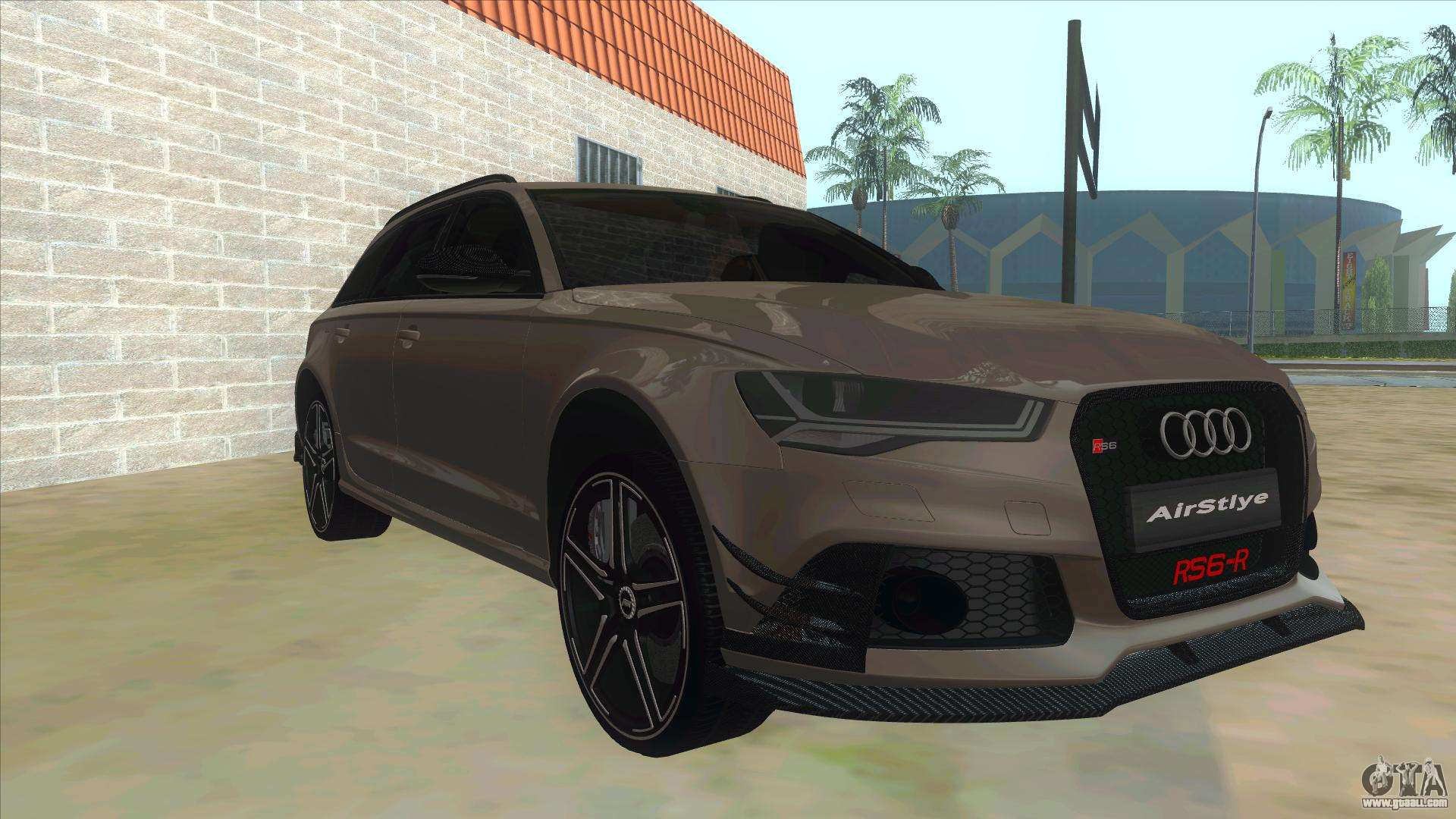 audi rs6 r for gta san andreas. Black Bedroom Furniture Sets. Home Design Ideas