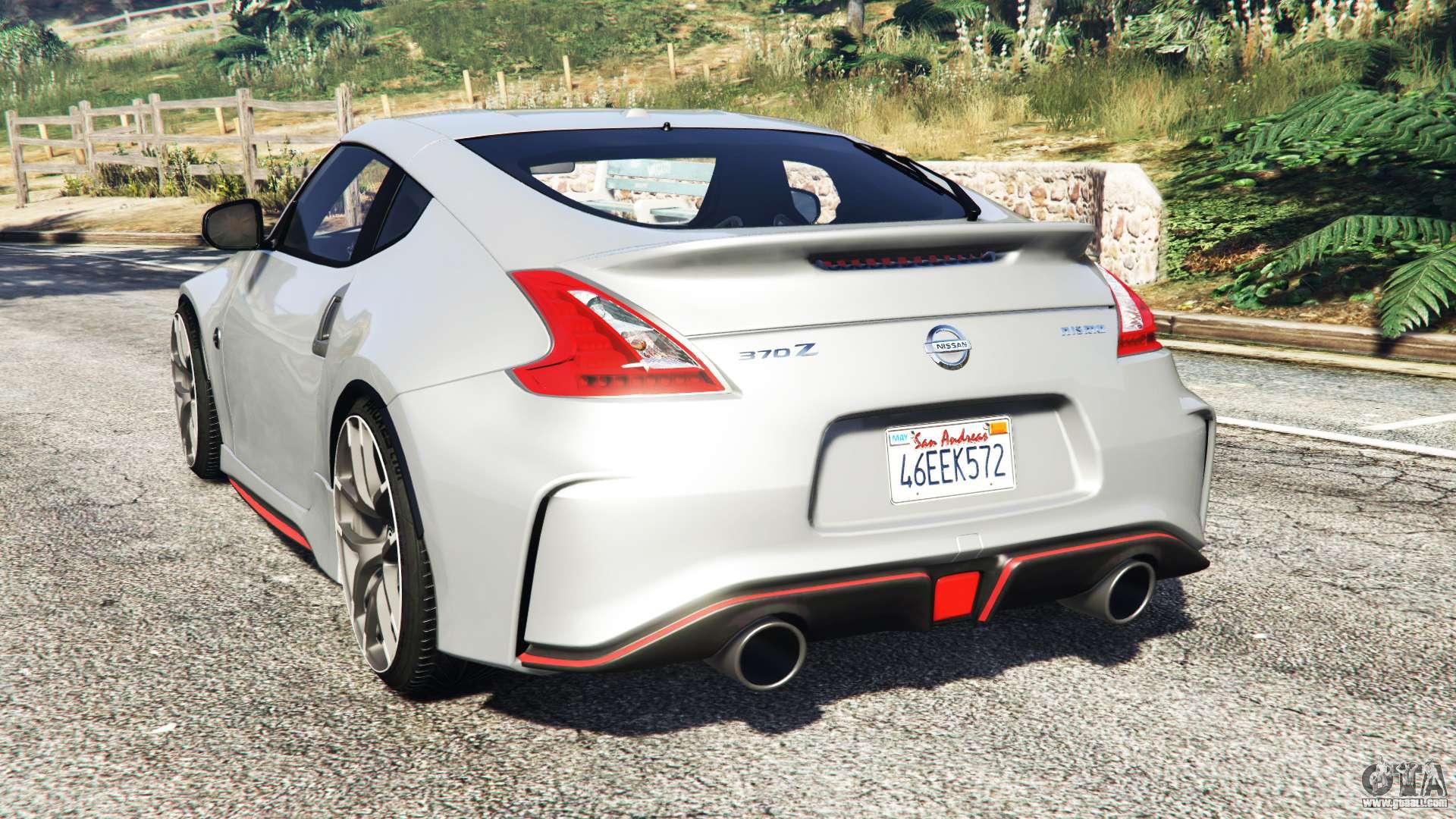 Nissan 370Z Interior >> Nissan 370Z Nismo Z34 2016 [replace] for GTA 5