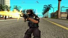 NextGen changed the original skin SWAT for GTA San Andreas