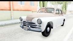 GAS М20В Victory 1955 SA Plate for GTA San Andreas