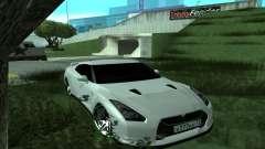 Nissan GT-R R35 Green Screen