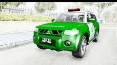 Mitsubishi Montero Carabineros Section SIAT for GTA San Andreas