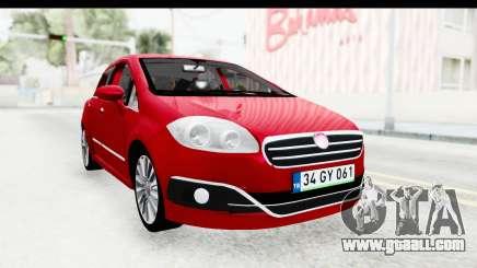 Fiat Linea 2015 v2 for GTA San Andreas