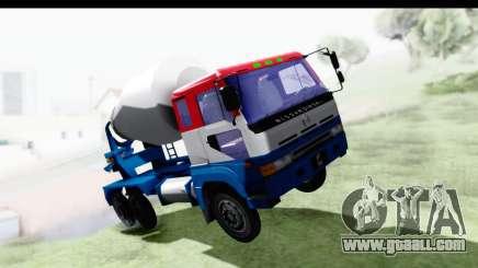 Nissan Diesel UD Big Thumb Cement Babena for GTA San Andreas