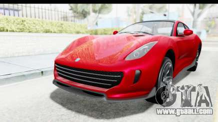 GTA 5 Grotti Bestia GTS with MipMap IVF for GTA San Andreas